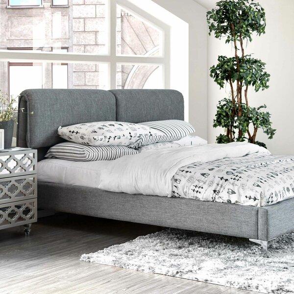 Baggett Upholstered Standard Bed by Brayden Studio