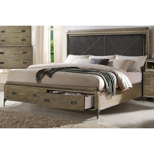 Cosima Upholstered Storage Standard Bed by Gracie Oaks
