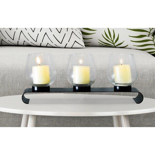 Table Standing Metal Candelabra by Fleur De Lis Living