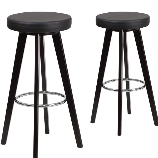 Salerno 30 Bar Stool (Set of 2) by Ebern Designs