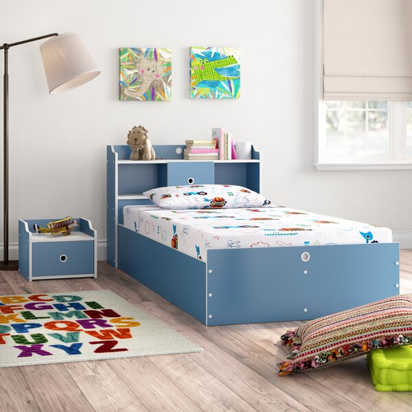 Kopf Panel 2 Piece Bedroom Set by Zoomie Kids