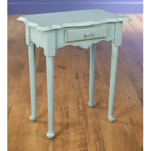 Best Reviews 1 Drawer End Table By AA Importing