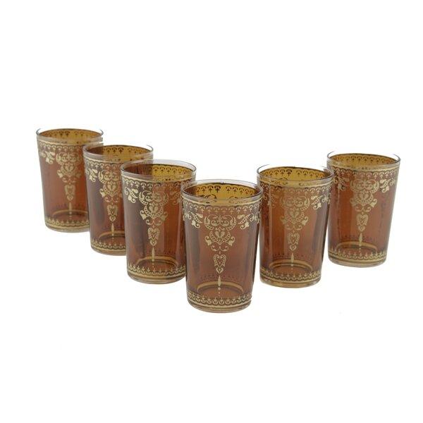 Moroccan Morjana Glass (Set of 6) by Casablanca Market