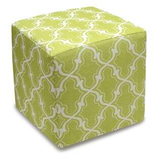 Trellis Cube Ottoman