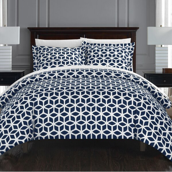 Blanton 2 Piece Reversible Duvet Set by Langley Street