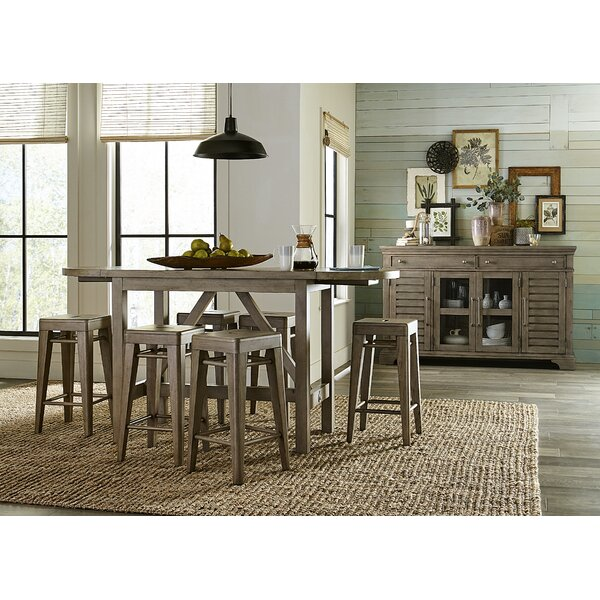 Monroe 7 Piece Drop Leaf Dining Set by Trisha Yearwood Home Collection Trisha Yearwood Home Collection