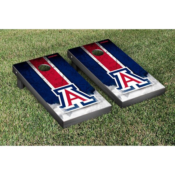 NCAA Grunge Version 1 Cornhole Game Set by Victory Tailgate