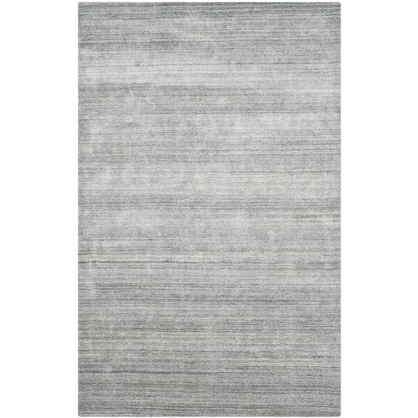 Leontine Hand-Loomed Ivory/Gray Area Rug by 17 Stories