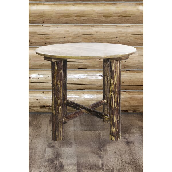 Tustin Solid Wood Pub Table by Loon Peak
