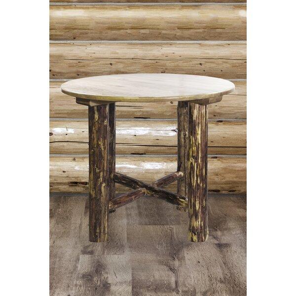 Tustin Solid Wood Pub Table By Loon Peak Coupon