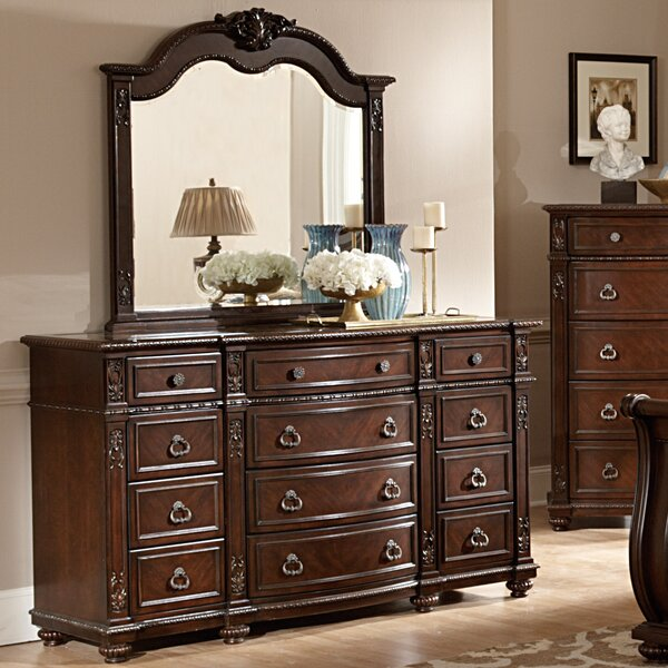 Hillcrest Manor 12 Drawer Dresser by Woodhaven Hill