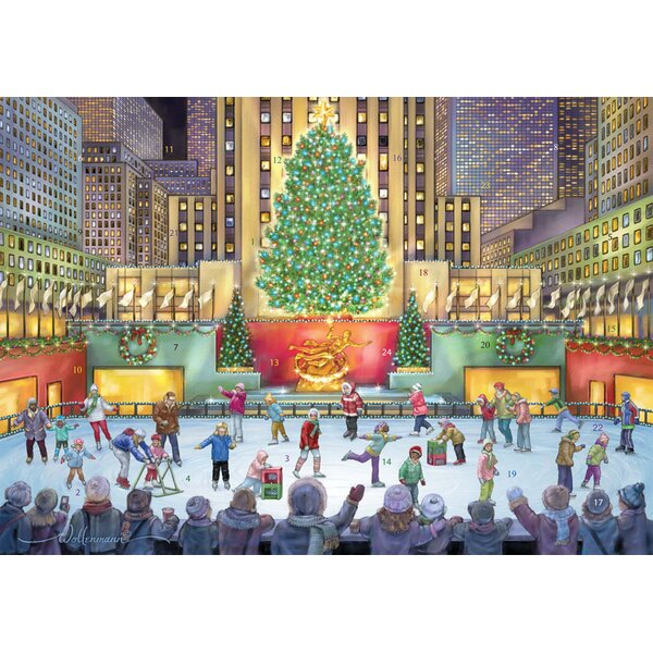 Rockefeller Center Advent Calendar by The Holiday Aisle