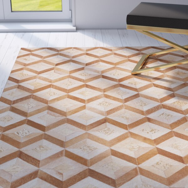 Deborah Handmade Toffee Area Rug by Mercer41