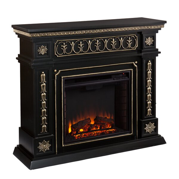 Bakker Electric Fireplace By Millwood Pines