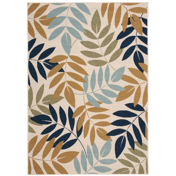Stylli Ivory Indoor/Outdoor Area Rug by Bay Isle Home