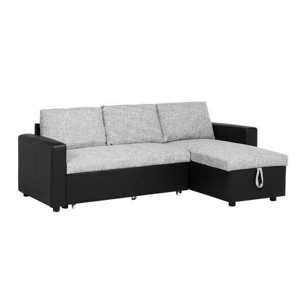 Hornell Sleeper Sectional by Ebern Designs