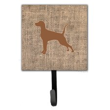 Pointer Leash Holder and Wall Hook by Caroline's Treasures