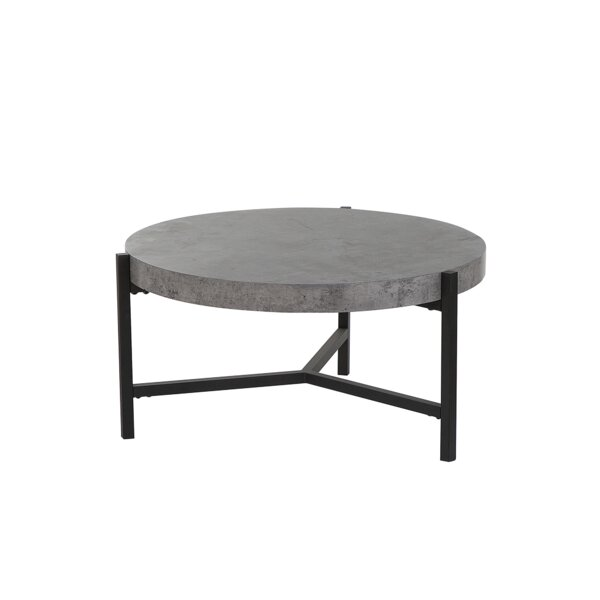 Threatt Concrete Effect Coffee Table by Williston Forge