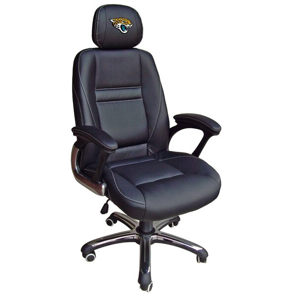NFL Leather Desk Chair by Tailgate Toss