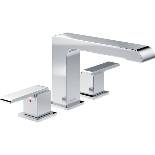 Ara Roman Two Handle Deck Mount Tub Trim by Delta