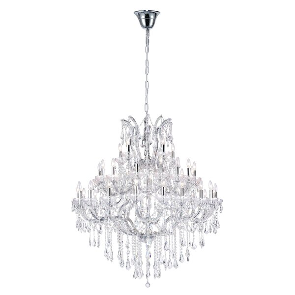 Orr 41-Light Candle Style Tiered Chandelier by Astoria Grand Astoria Grand