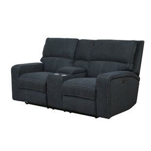 Stephan Reclining Loveseat Ebern Designs Wonderful
