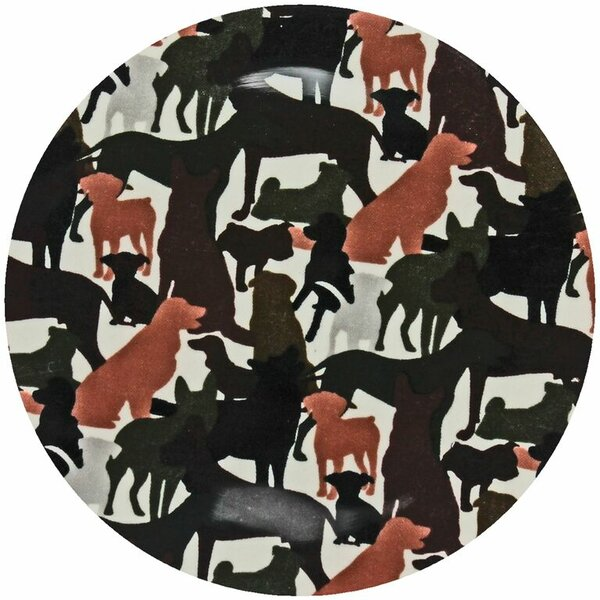 Dog Camo Trivet by Andreas Silicone Trivets