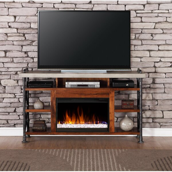 Perei 62 TV Stand with Fireplace by 17 Stories