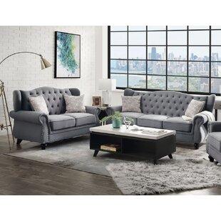 Elysian 2 Piece Living Room Set by Alcott Hill®