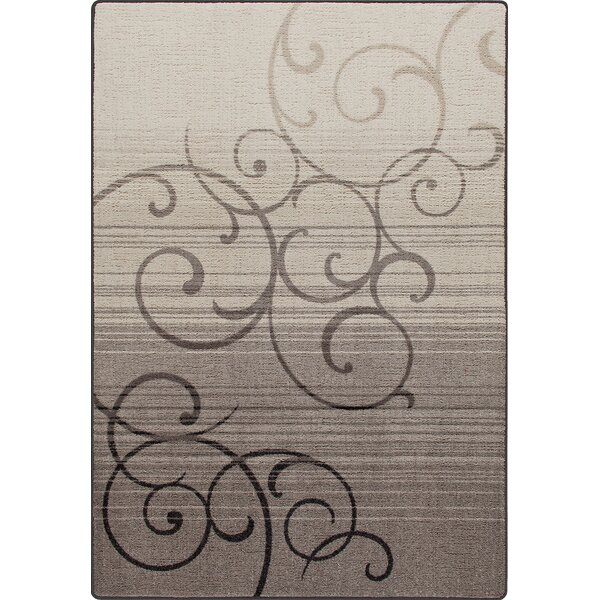Mix and Mingle Pewter Whispering Wind Rug by Milliken