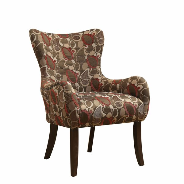 Gunderson Wingback Chair by Red Barrel Studio