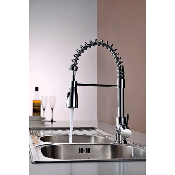 Pull Out Single Handle Kitchen Faucet by Royal Purple Bath Kitchen