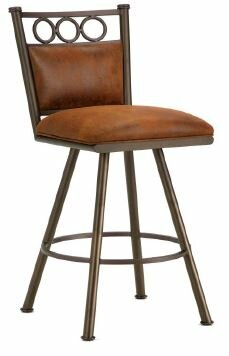 Waterson Swivel Bar & Counter Stool By Iron Mountain