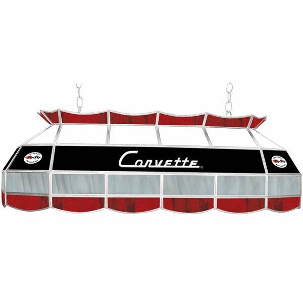 Corvette C1 3-Light Pool Table Light by Trademark Global