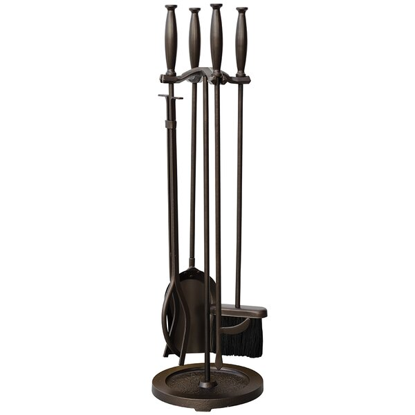 5 Piece Fireplace Tool Set by Uniflame