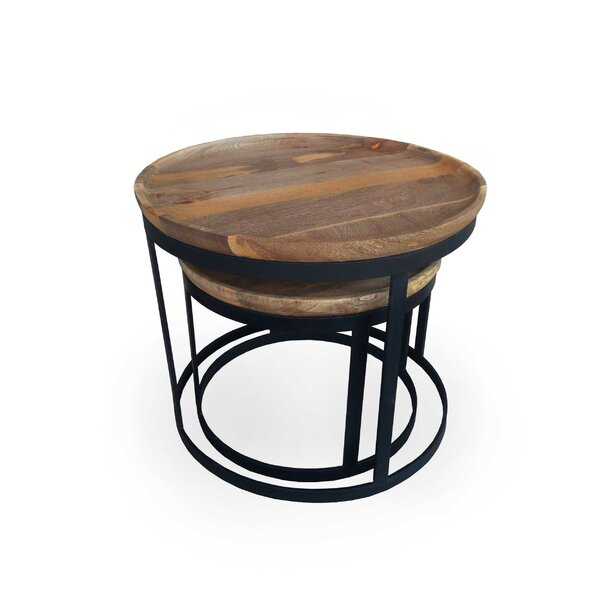 Alfort 2 Piece Nesting Tables by Foundry Select