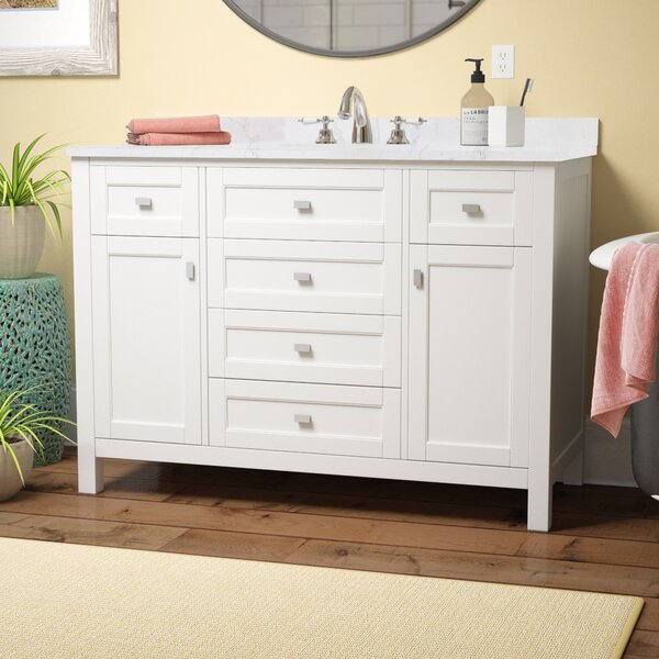 Benito 48 Single Bathroom Vanity Set by Highland Dunes