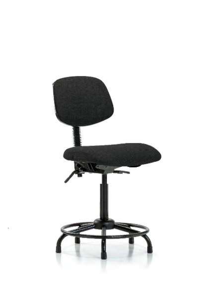 Jaidyn Round Tube Base Ergonomic Office Chair by Symple Stuff