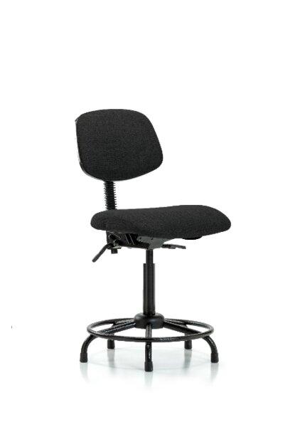 Jaidyn Round Tube Base Ergonomic Office Chair by Symple Stuff