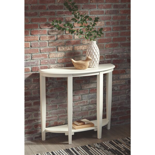 Deals Price Saucedo Console Table
