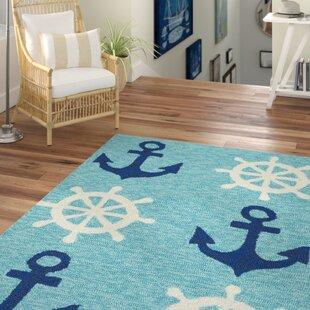 Trend Sereno Traditional Handmade Abstract Indoor / Outdoor Area Rug ByBeachcrest Home