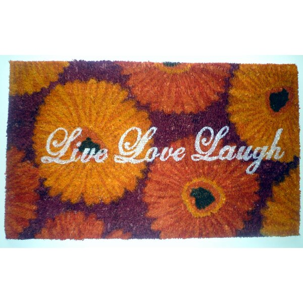 Live Love Laugh Doormat by Geo Crafts, Inc
