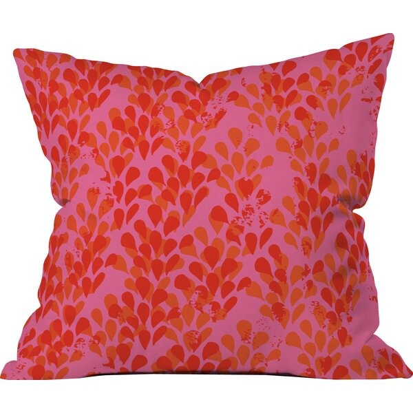 Bright Happiness Outdoor Throw Pillow by Deny Designs