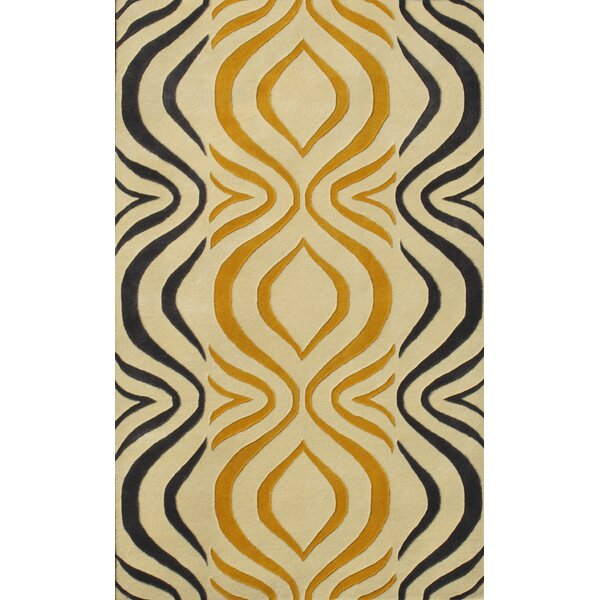 Cologne Gold Area Rug by Noble House