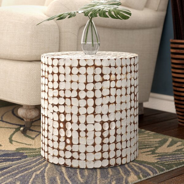 Kathline Solid Wood End Table By Beachcrest Home