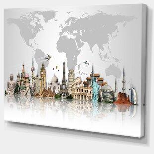 World map wall art gumiabroncs Gallery