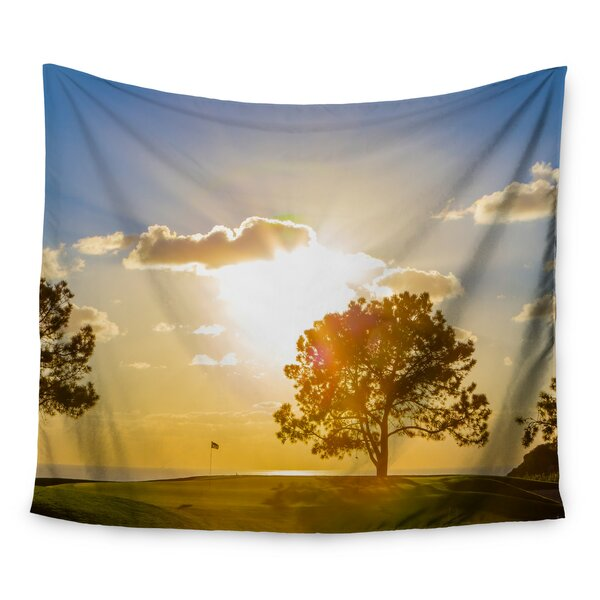 Approach Shot by Juan Paolo Wall Tapestry by East Urban Home