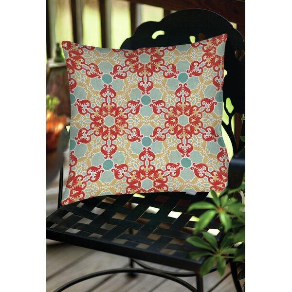 Kerrie Patterns 11 Indoor/Outdoor Throw Pillow by Red Barrel Studio
