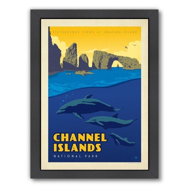 Channel Island National Park Framed Vintage Advertisement by East Urban Home