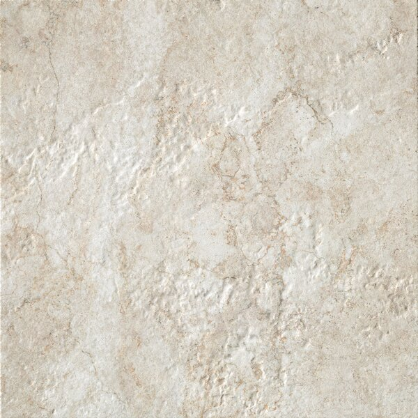 Forge 20 x 20 Porcelain Field Tile in White by Bedrosians
